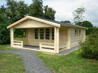 Self build timber home kits Spain